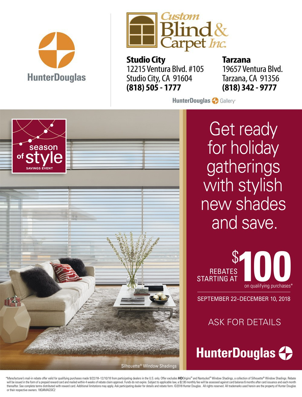 Window Blinds Special Offer